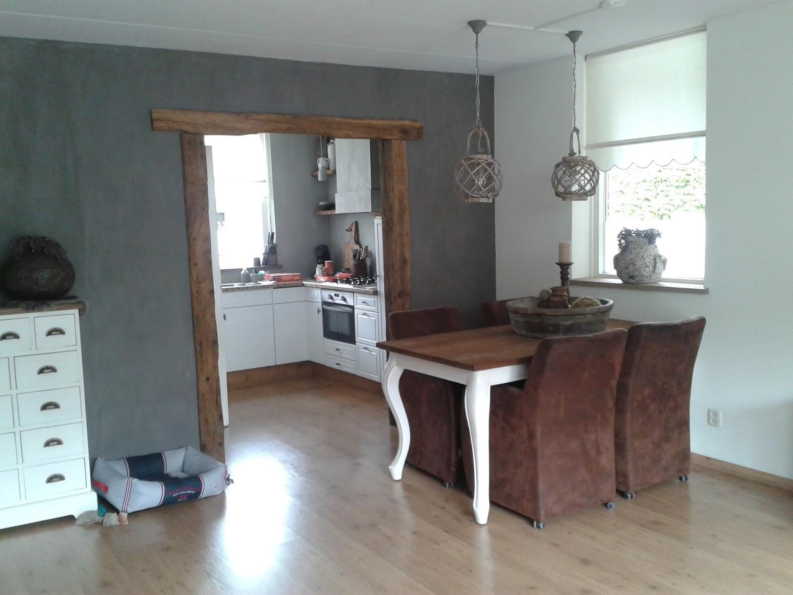 Keuken sober landelijk home design idee n en meubilair - Keuken en woonkamer in dezelfde kamer ...