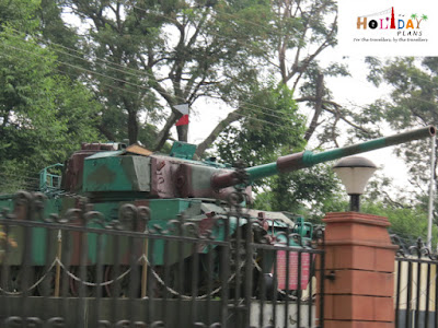 Tanks at cantonment area