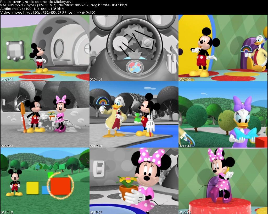 Asombroso Página De Color De Mickey Mouse Bosquejo - Dibujos Para ...