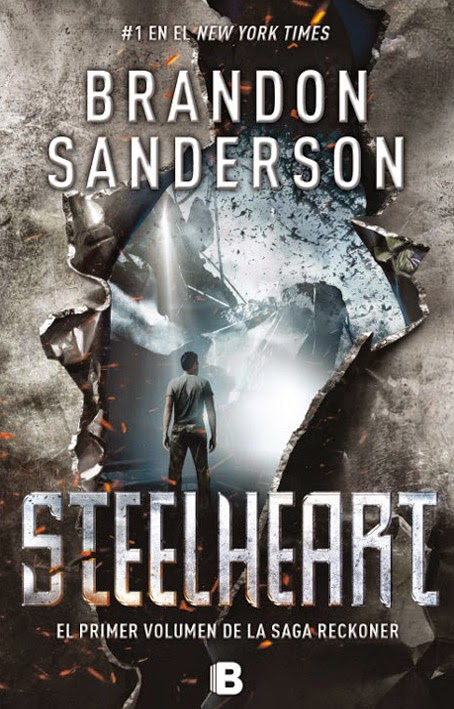 SteelHeart de de Brandon Sanderson