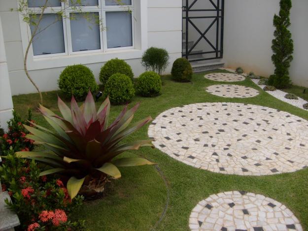jardim ideias simples:Decoracao Para Jardim De Casa