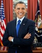 Barack Hussein Obama :-President Of United States Of America