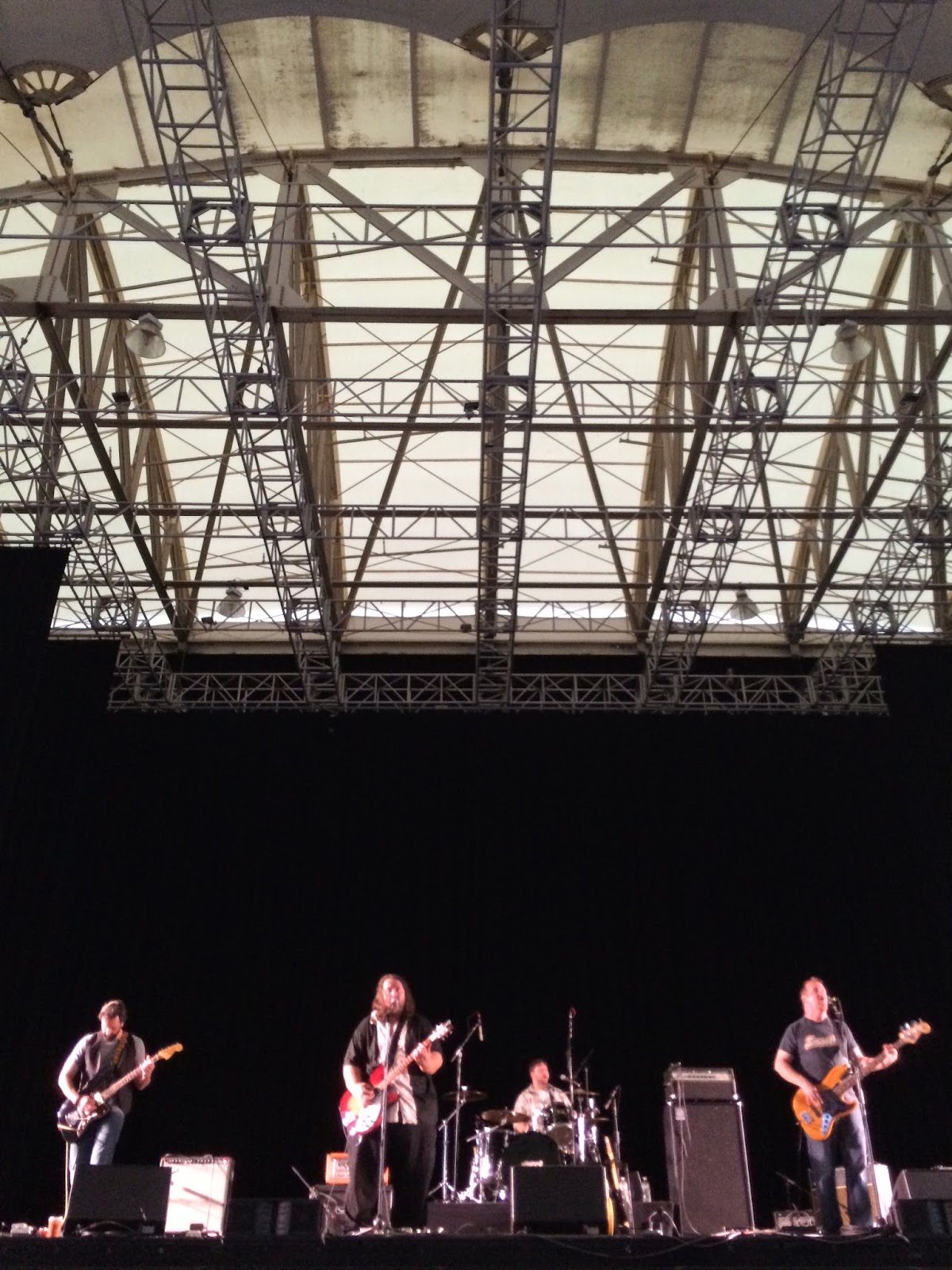 The Rationales Live at the Blue Hills Bank Pavilion June 2014