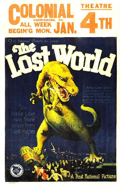 The Lost World 1925 poster