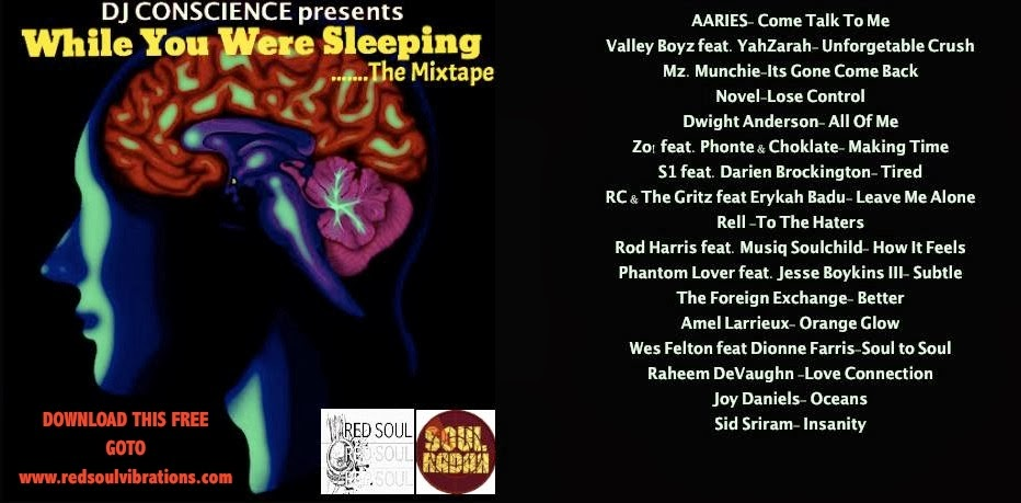 DJ CONSCIENCE presents WHILE YOU WERE SLEEPING....THE MIXTAPE