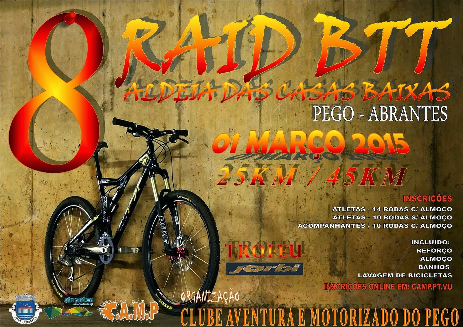 8º RAID DE BTT