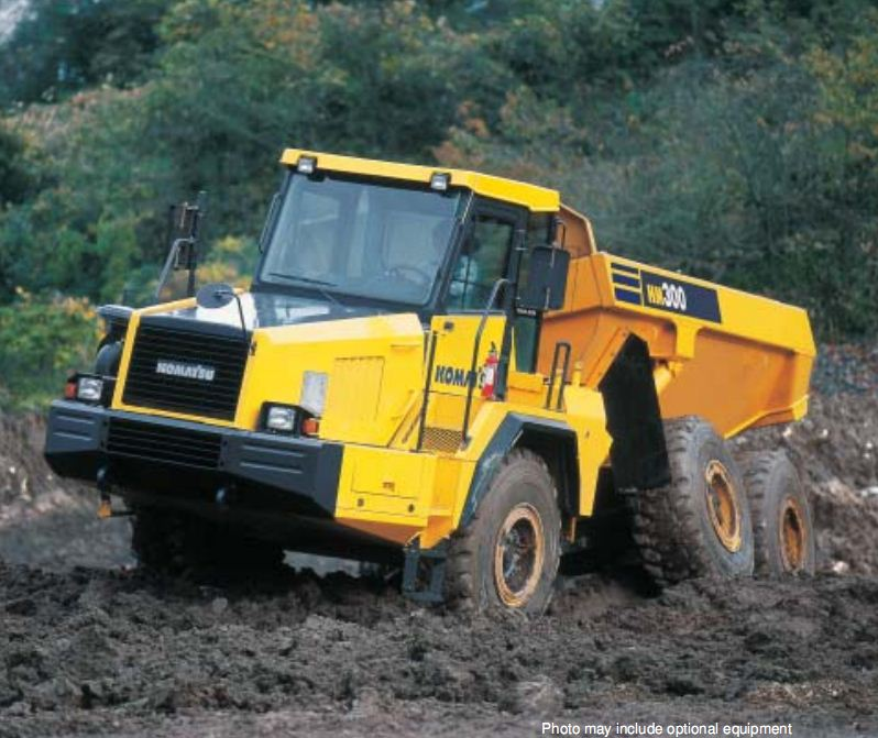 HM300-1 Articulated Dump Truck