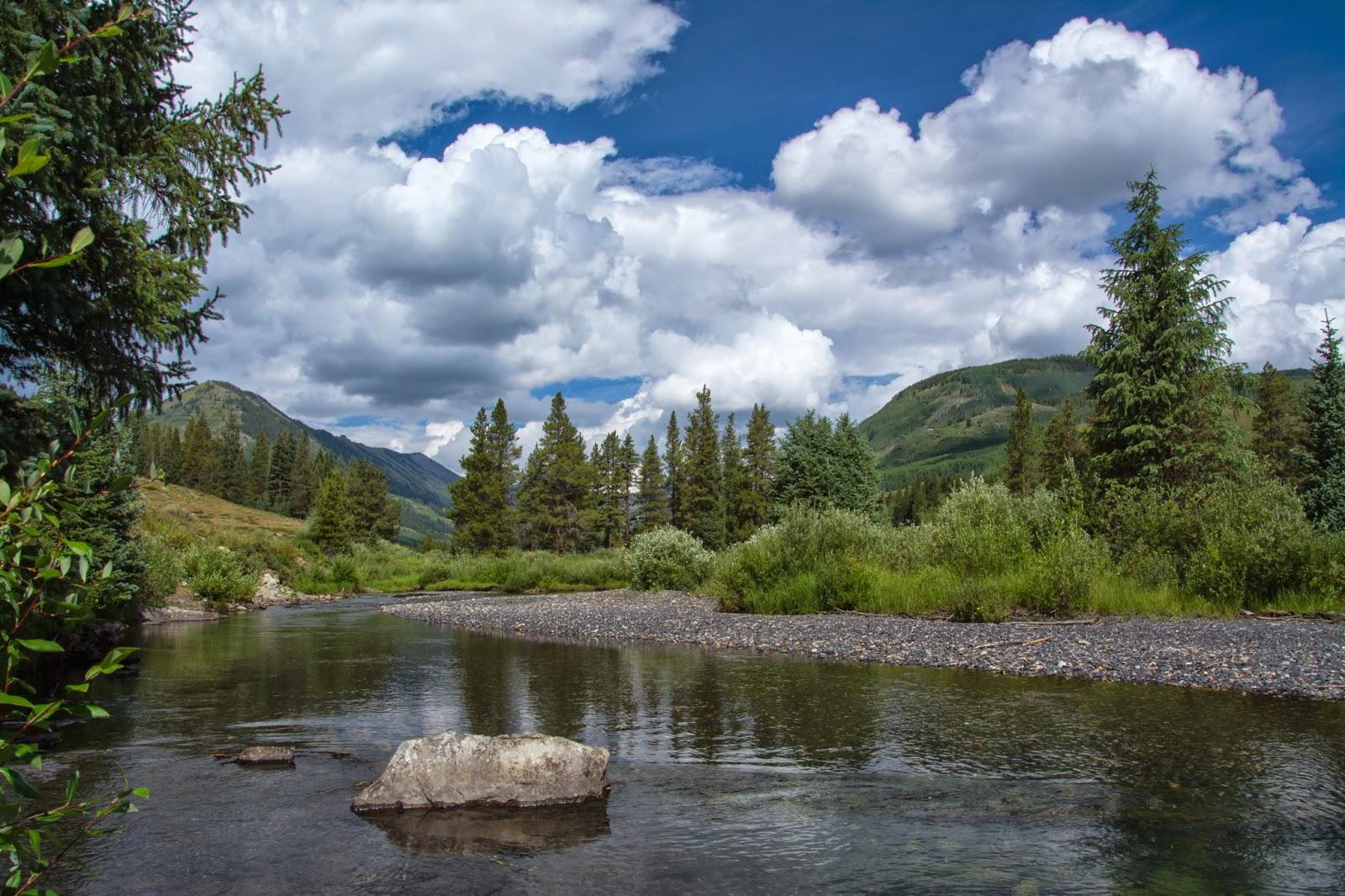 Slate River, Lower Loop Trail