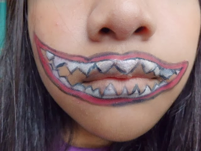 jjangkaitz: Kyary Pamyu Pamyu Monster mouth makeup
