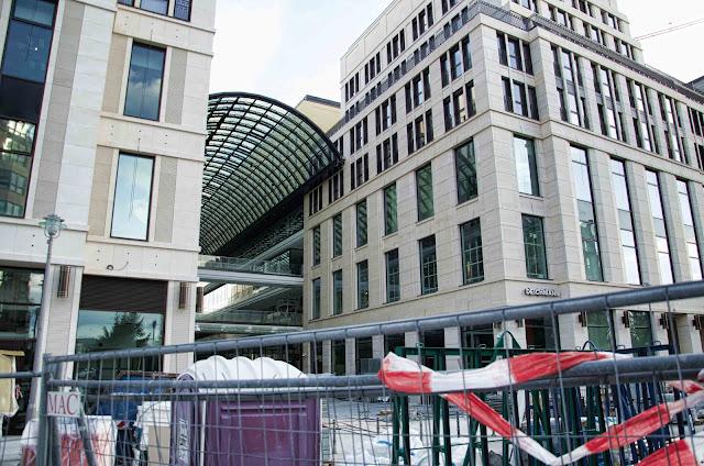 ExtraZoom, Panorama-Aufnahme, Baustelle Quartier am Leipzigerplatz, Leipziger Straße, Voßstraße, 10117 Berlin, 22.12.2013