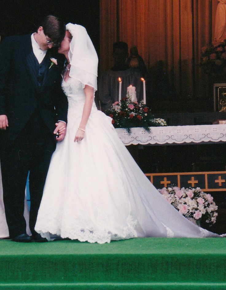 At this time, thirteen years ago today, June 13, I married my Sweetie.