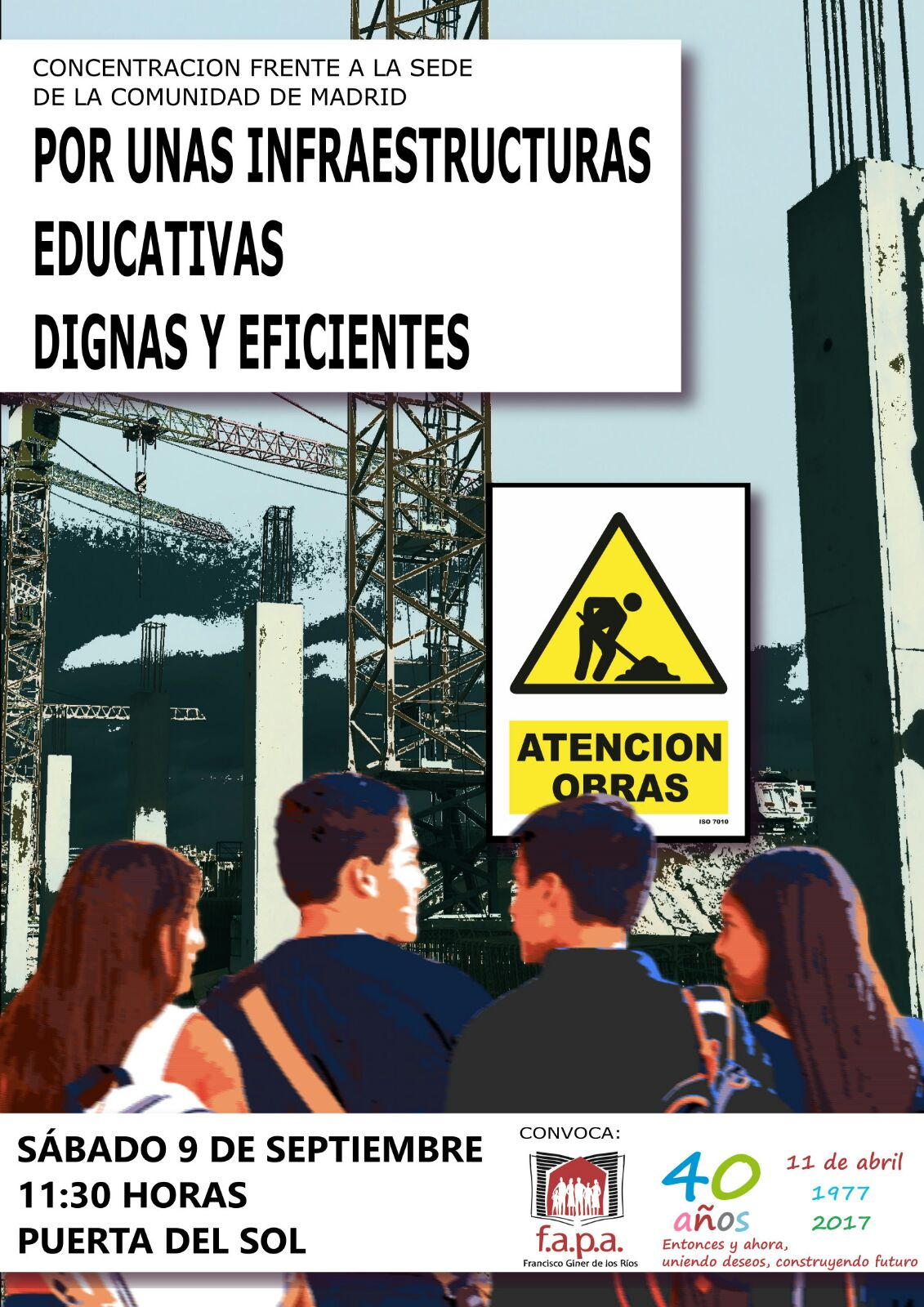 sábado 9 Concentración Por una Enseñanza Pública de Calidad