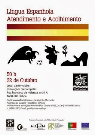 Formação financiada de Língua Espanhola (Atendimento e Acolhimento) em Lisboa