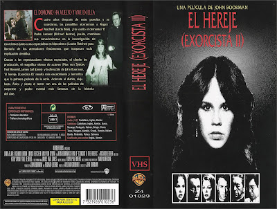 Cover, caratula, dvd: El Exorcista 2: El hereje | 1977 | Exorcist II: The Heretic