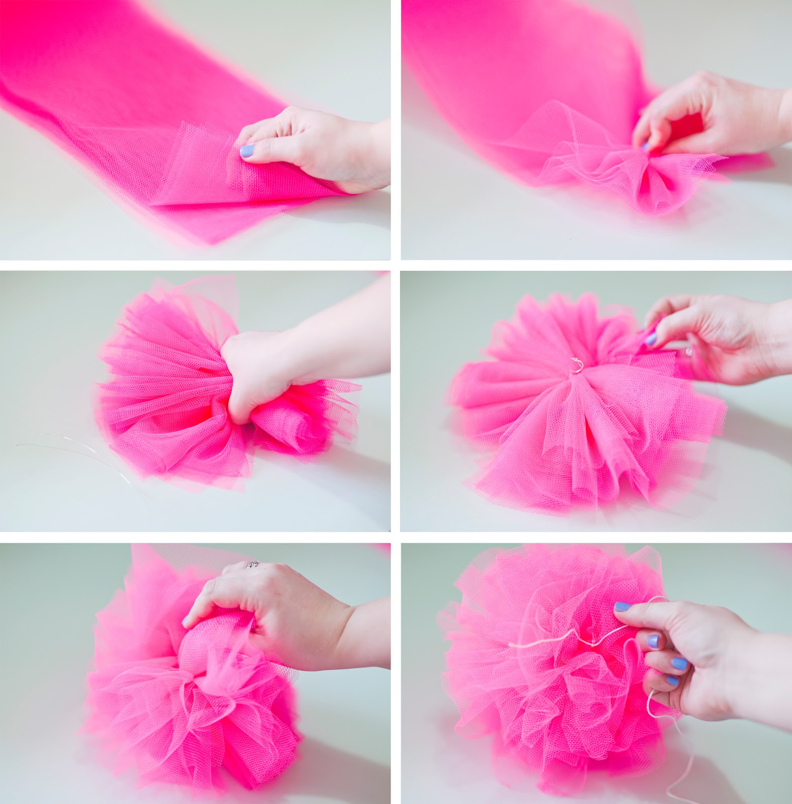 Live it love it make it make it pompom 39 s 3 ways for What to make with pom poms crafts