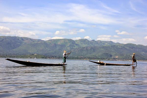 Pescadores del Lago Inle - Myanmar