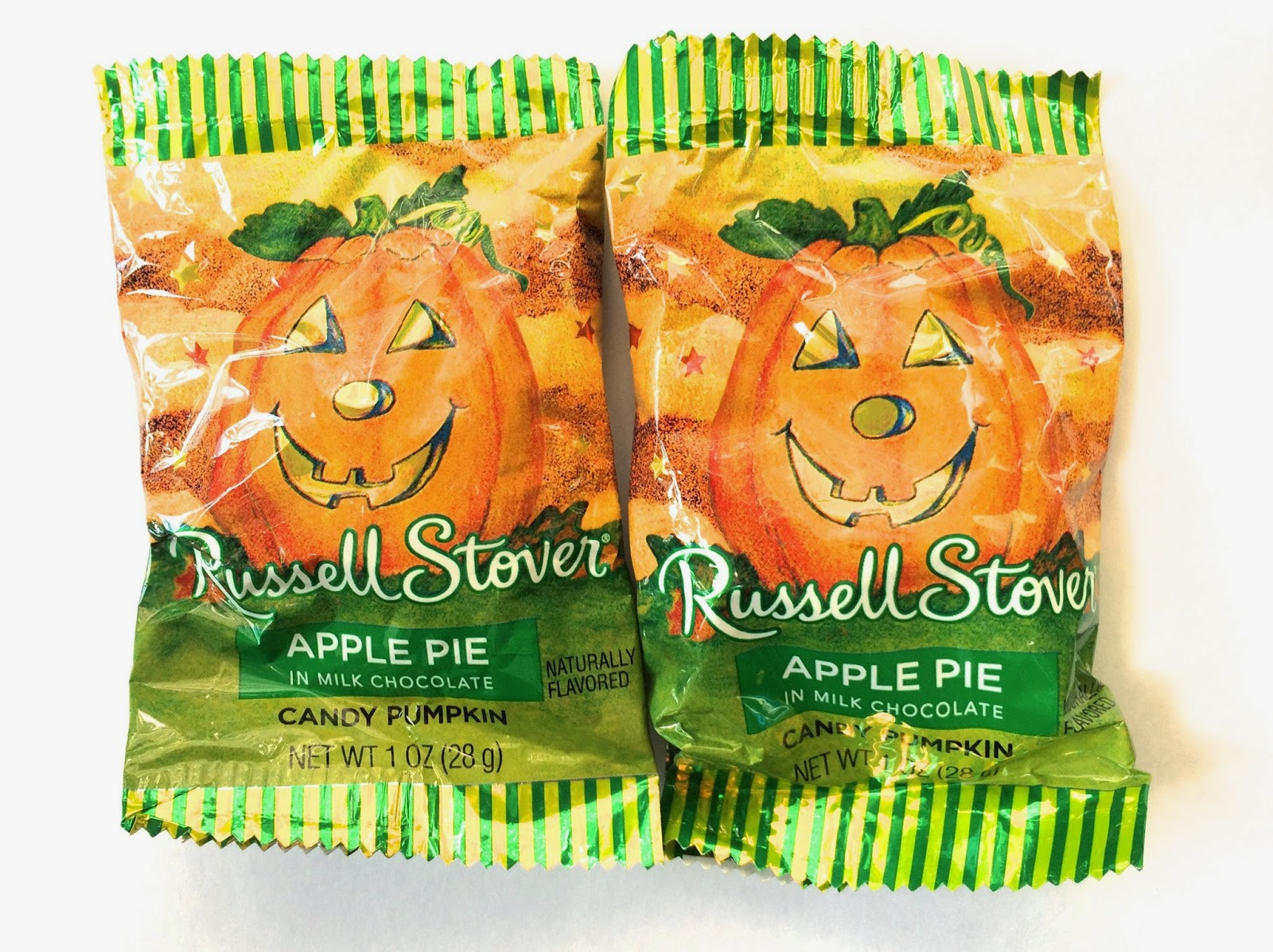 obsessive sweets: halloween treats: russell stover apple pie pumpkin