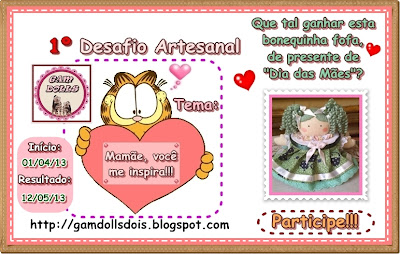Sorteio no Gam Doll's
