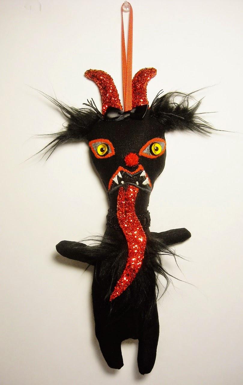 Junker Jane Art Dolls and Soft Sculptures: Krampus Miss ...