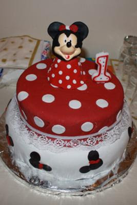 delicious minnie mouse birthday cakes
