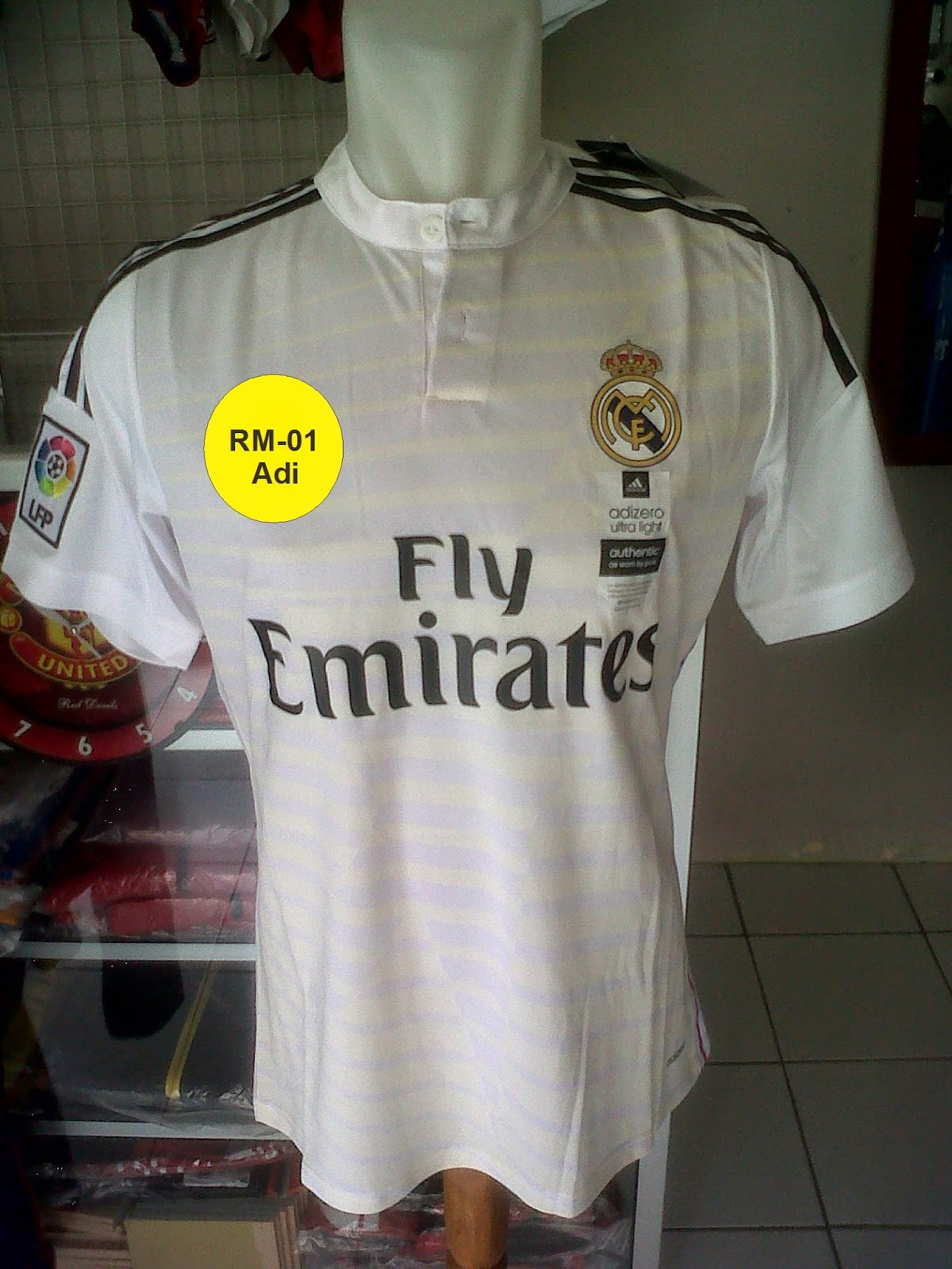 Jersey Real Madrid Home 2014/2015 Model Player