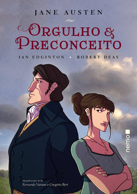 [Lançamento] Orgulho e Preconceito | Jane Austen (HQ) Ian Edginton & Robert Deas @EditoraNemo