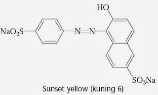 Sunset yellow (kuning 6)