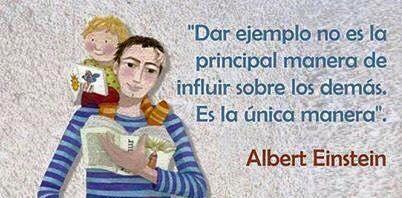 Einstein nos da un consejo
