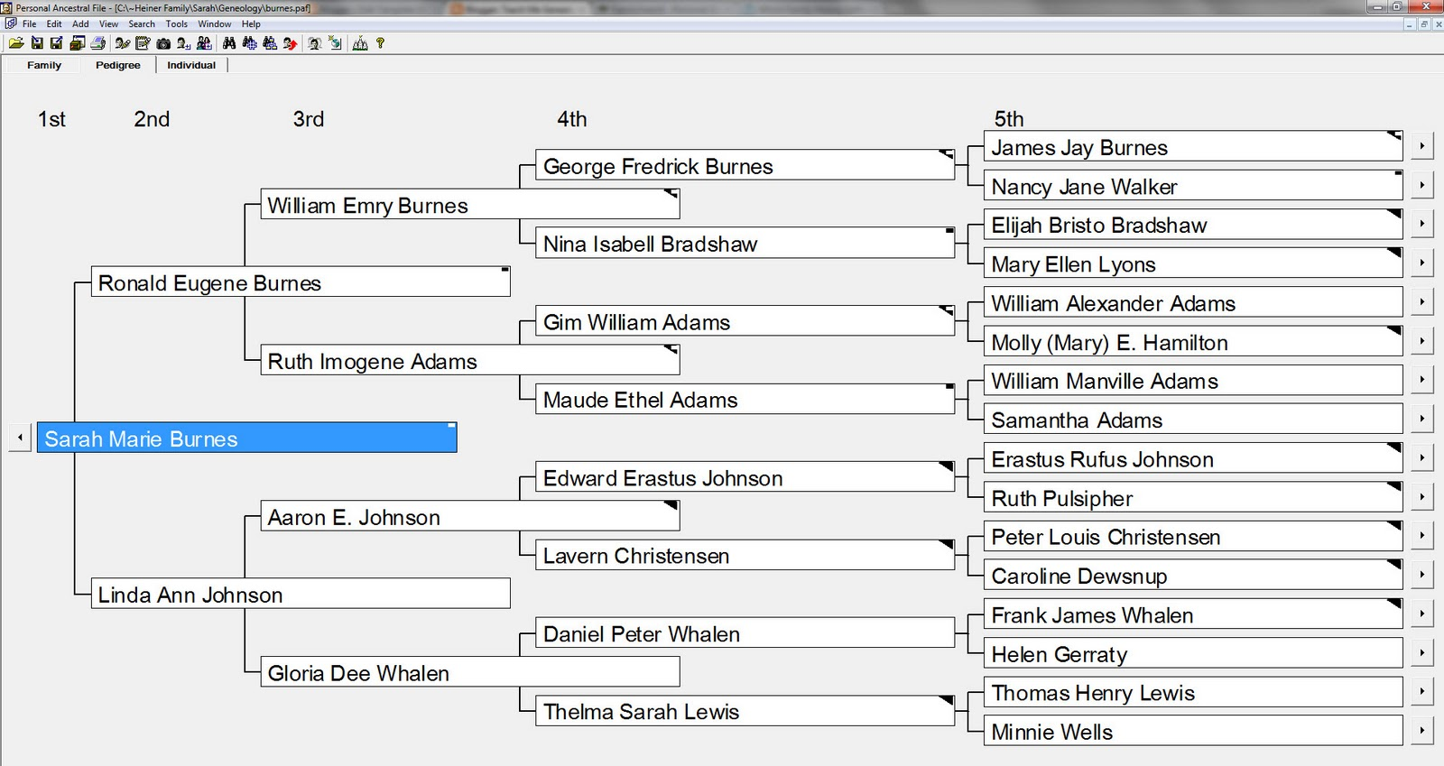 Free Genealogy Software Paf 5 Teach Me Genealogy