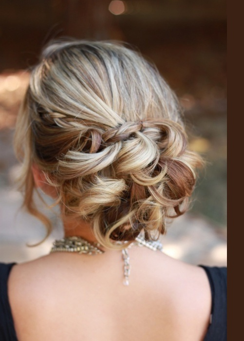 Trendy Braided Bun Fashion Hairstyles