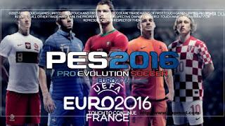 FTS Mod UEFA EURO 2016 by Yudhaduarsa Apk + Data Obb