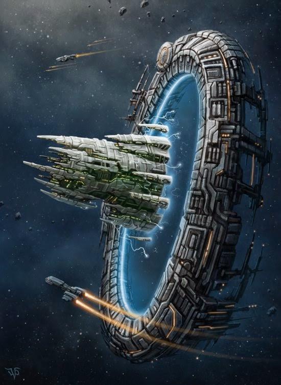 Leonovich Dmitriy deviantart ilustrações retrô vintage ficção científica naves espaciais