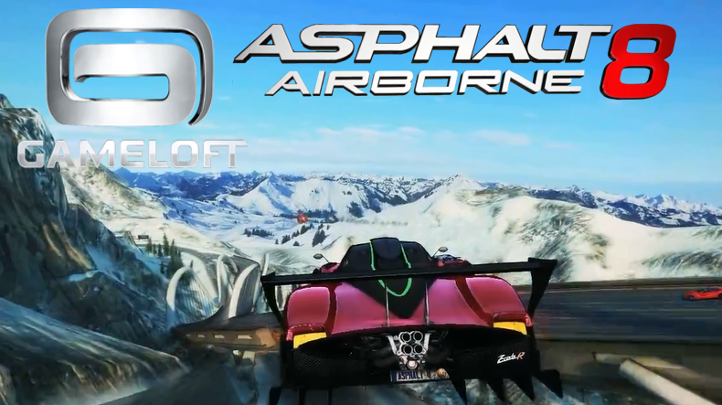 Asphalt 8: Airborne 1.2.1 APK+DTA+MOD ( Unlimited Money) Free For Android