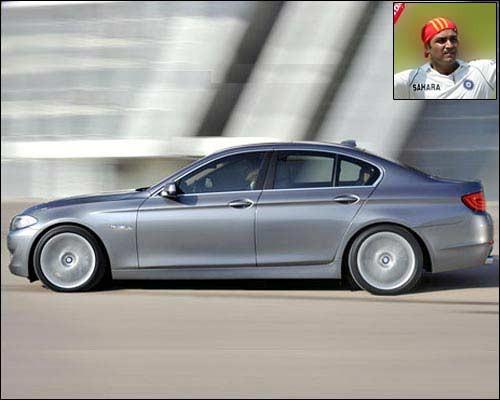 Virender Sehwag - BMW 5-series