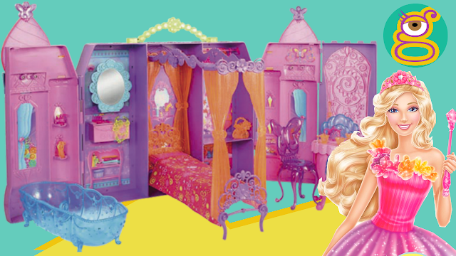 El Castillo Puerta Secreta de Barbie play doh Barbie Secret Door Castle- juguetes Barbie