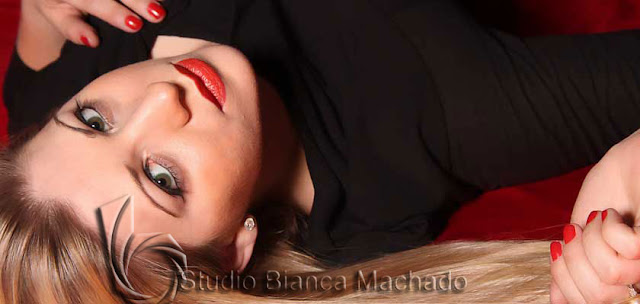 Fotos de modelo em estudio