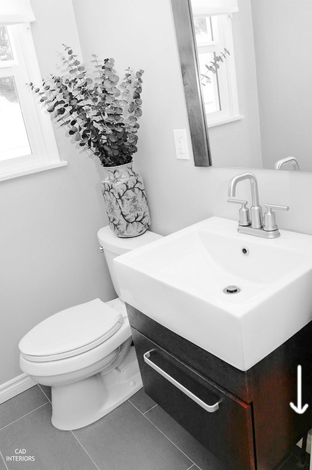 CAD INTERIORS guest bathroom renovation home improvement plumbing design tips interior design