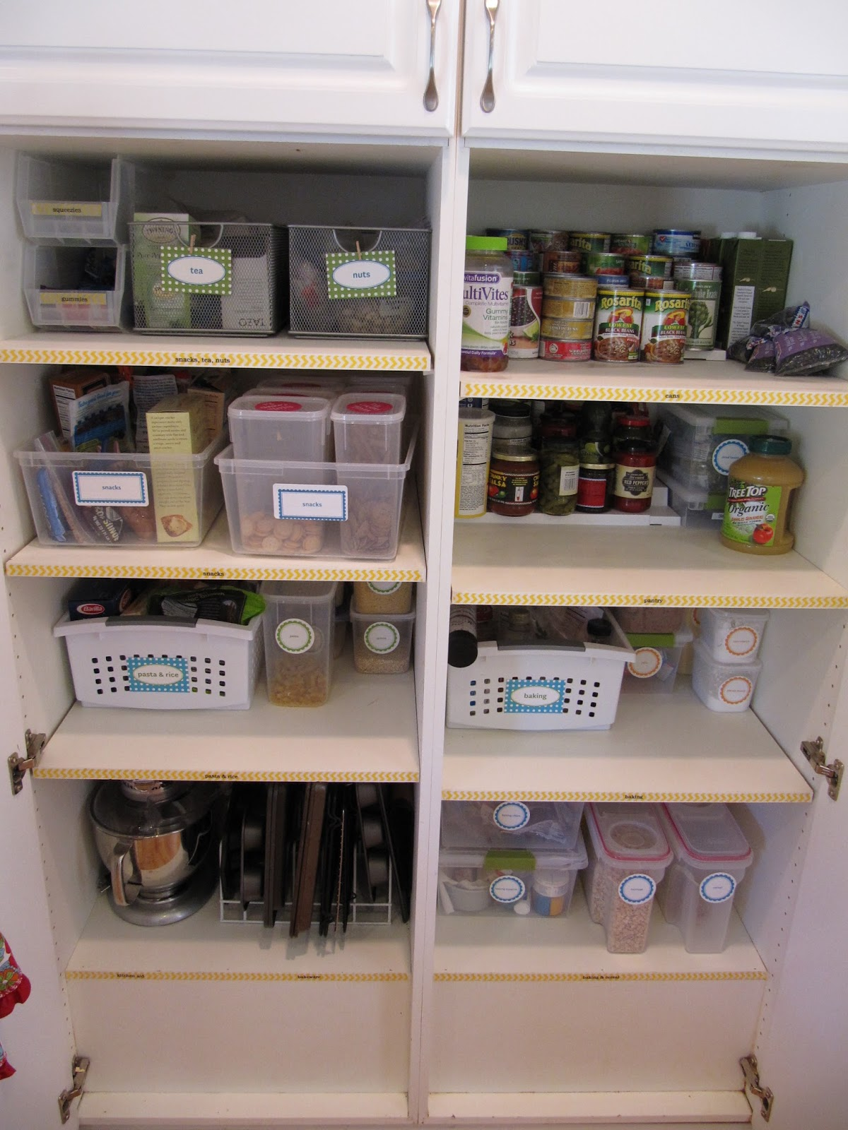 everyday organizing An Organized Kitchen The Pantry Part I