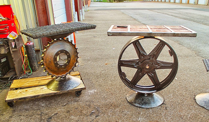 Steampunk Recycled Furniture