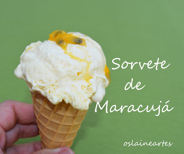 Sorvete de Maracujá