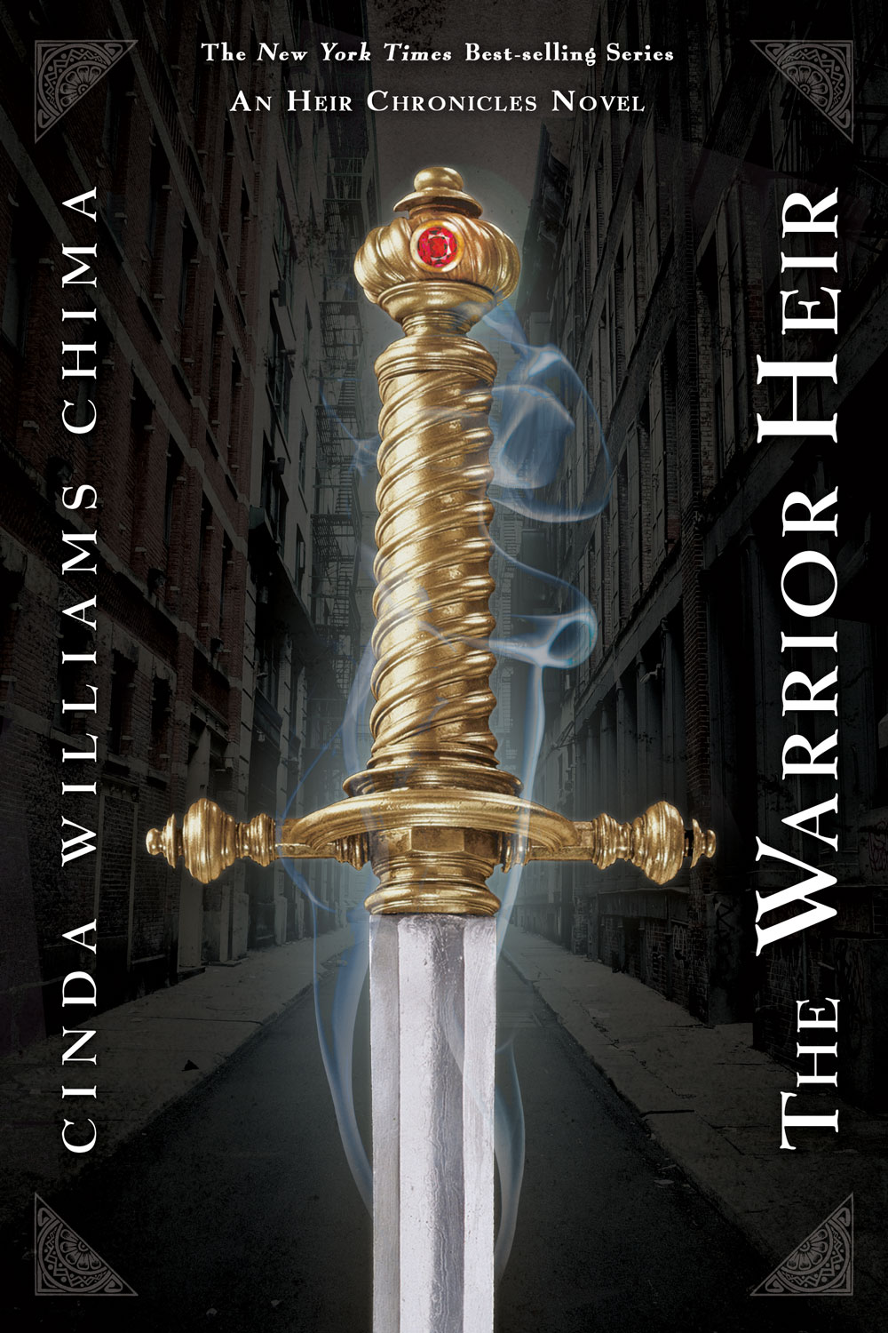 The Warrior Heir book cover