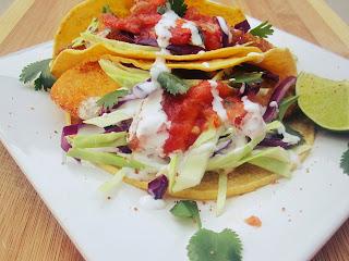 Fish Tacos  from Nuestro Buen Provecho