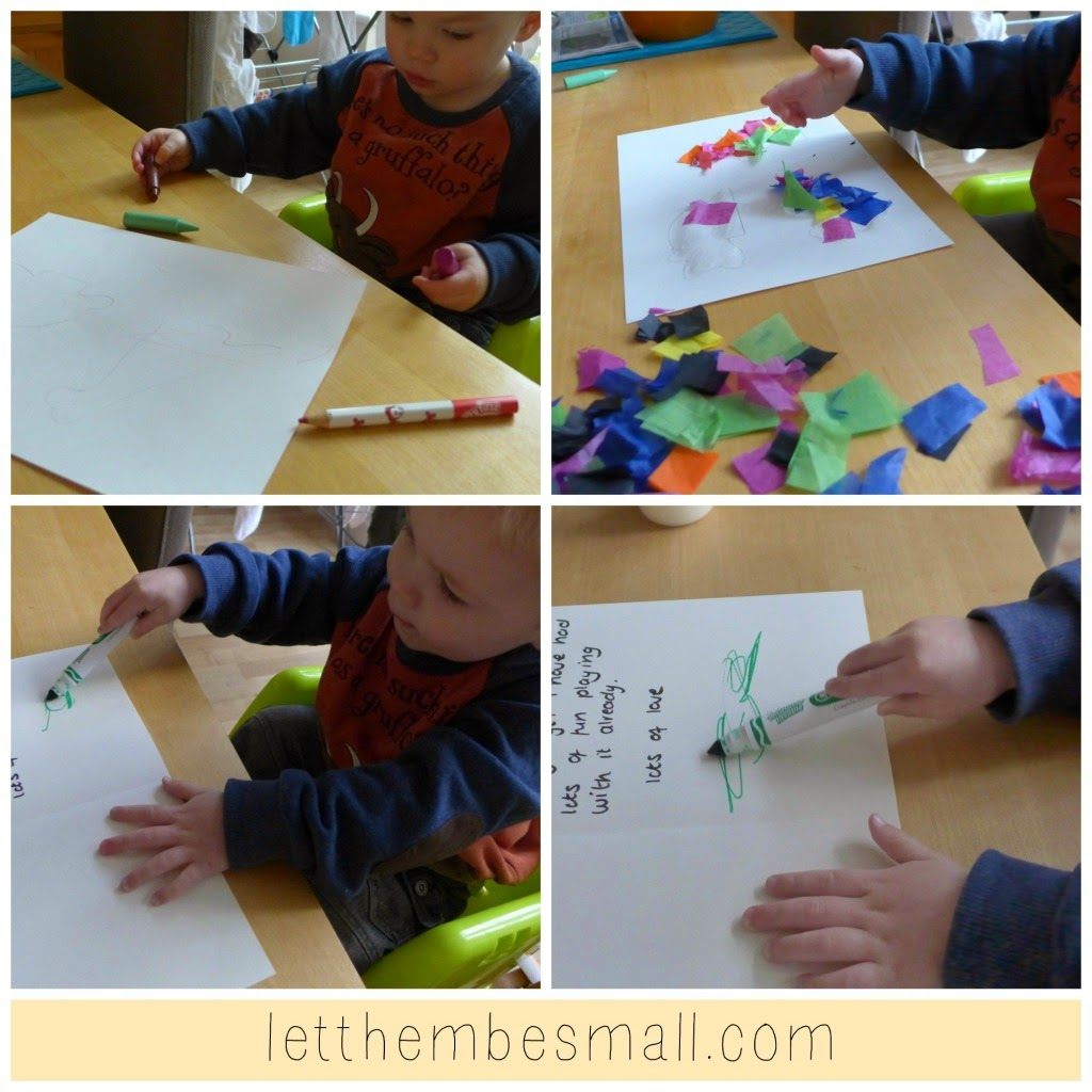 http://letthembesmall.com/toddler-handmade-thank-you-cards/