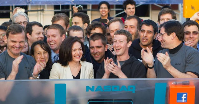 Zuckerberg na Nasdaq