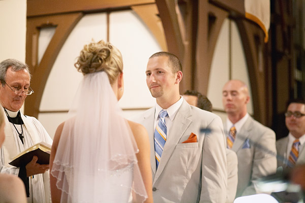 Pequot Chapel wedding ceremony