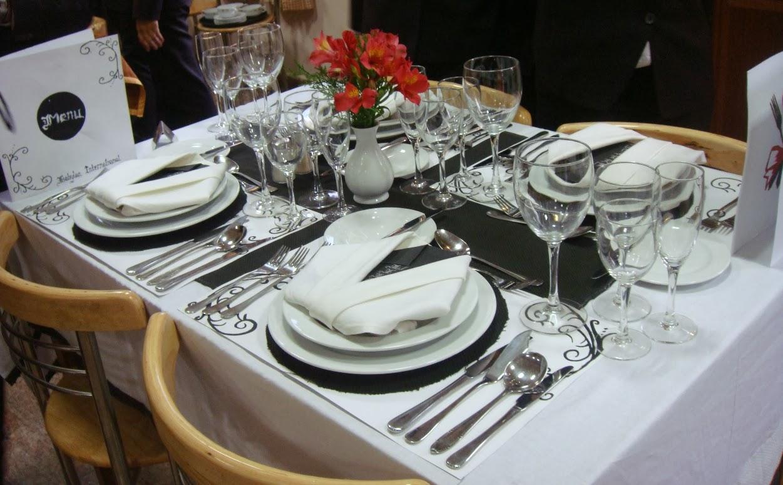 Good Shepherd Finishing School: TABLE SETTING COMPETITION