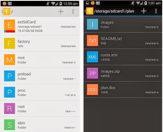 gFile - An Amazing Android File Manager (Gmail-Inspired UI)