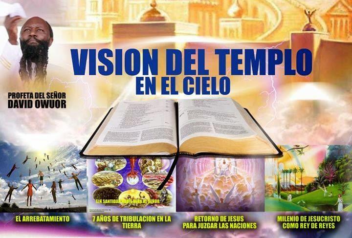 VISION DEL TEMPLO EN EL CIELO