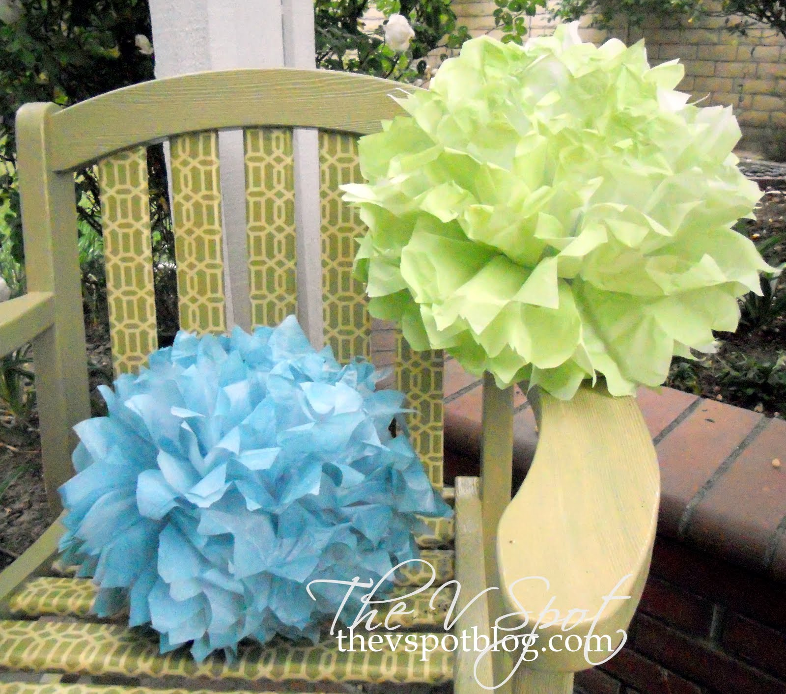 yes you can spray paint tissue paper. Black Bedroom Furniture Sets. Home Design Ideas