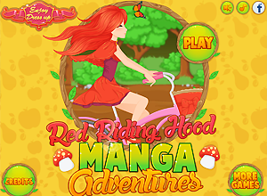 Red Riding Hood Manga Adventures